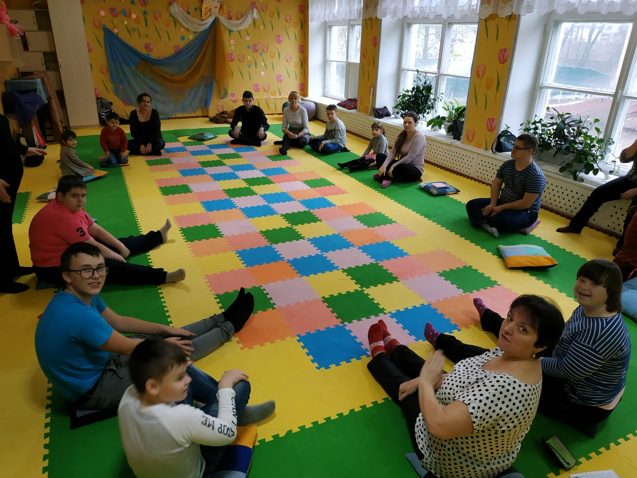 Досуговый центр для семей с детьми с ОВЗ